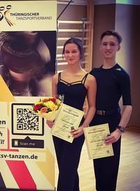 Besondere Auszeichnung für Eric und Joelina durch den TTSV
