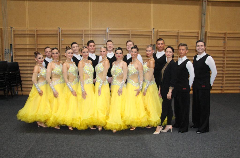 """Gelungener Test der Formationen beim """"Dance-Cup"""" in Österreich"""